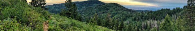 Gardiner Peak trail Boise