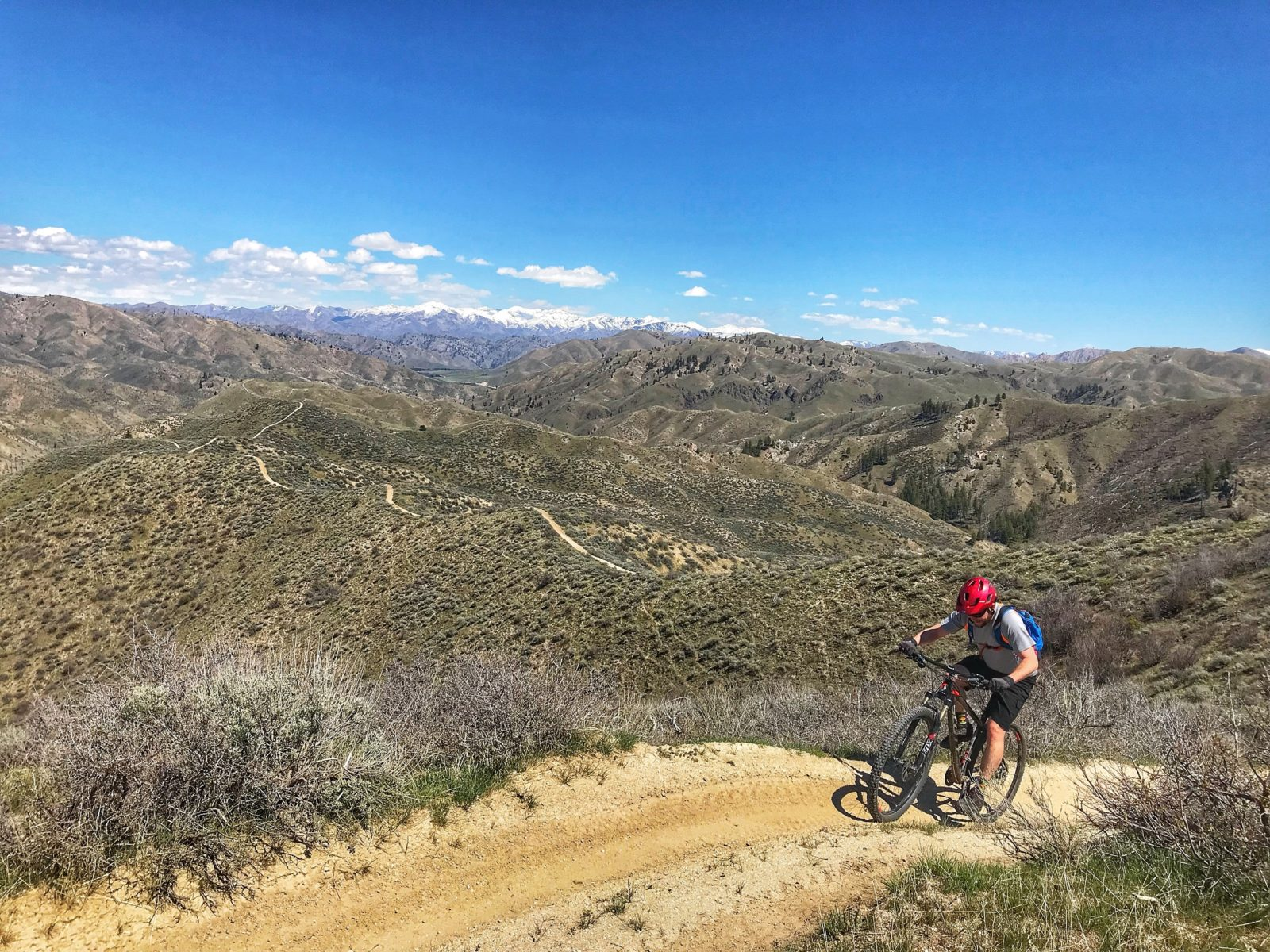 Danskins mountain biking Idaho