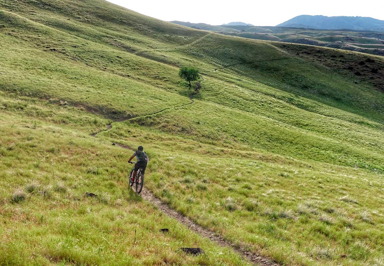 Mountain Biking Trails in Boise, Idaho
