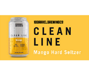 10 Barrel Clean Line Mango Hard Seltzer